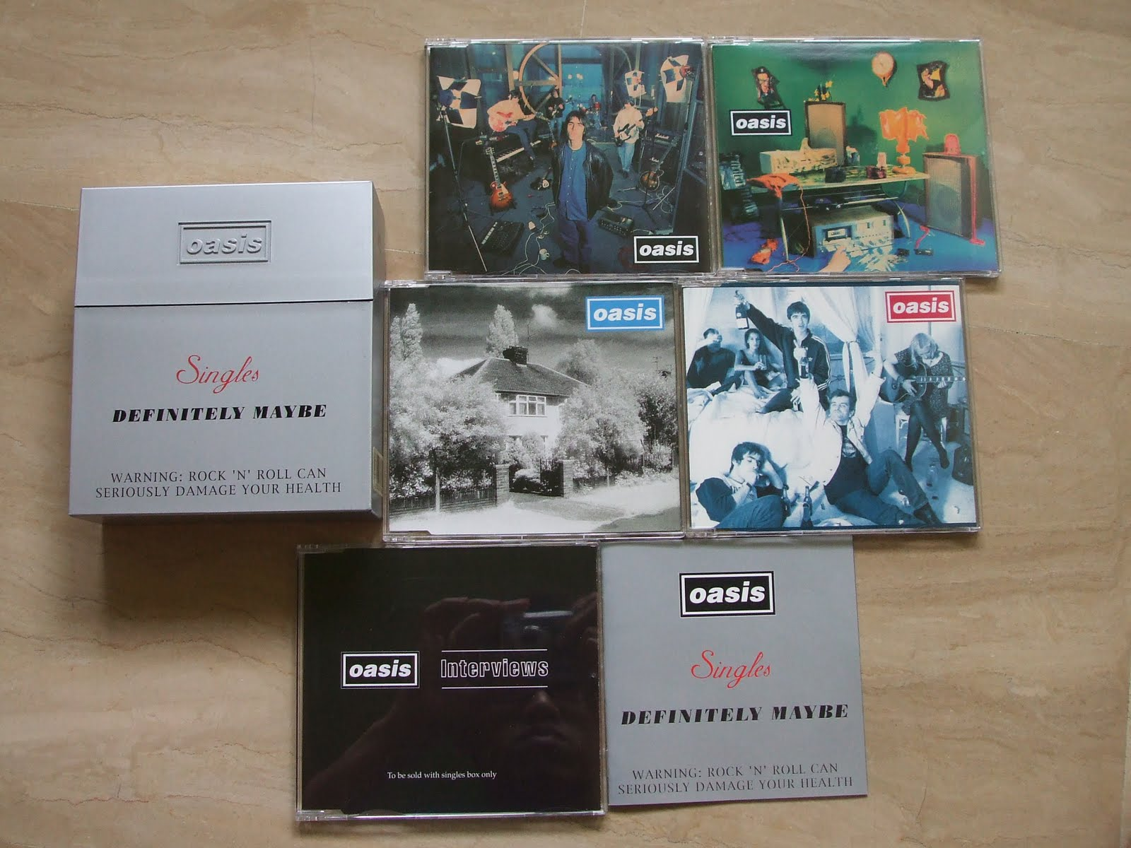 Oasis complete singles box