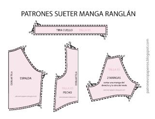 Patrón De Suéter Para Perro Con Manga Ranglán Mimi Y Tara