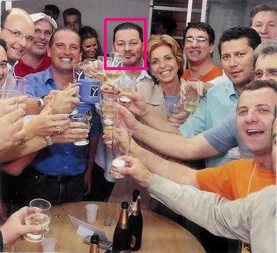 Marcelo no destaque na comemoração da eleição de Yeda