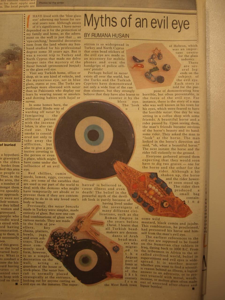 Myths of an Evil Eye | KARACHIWALI