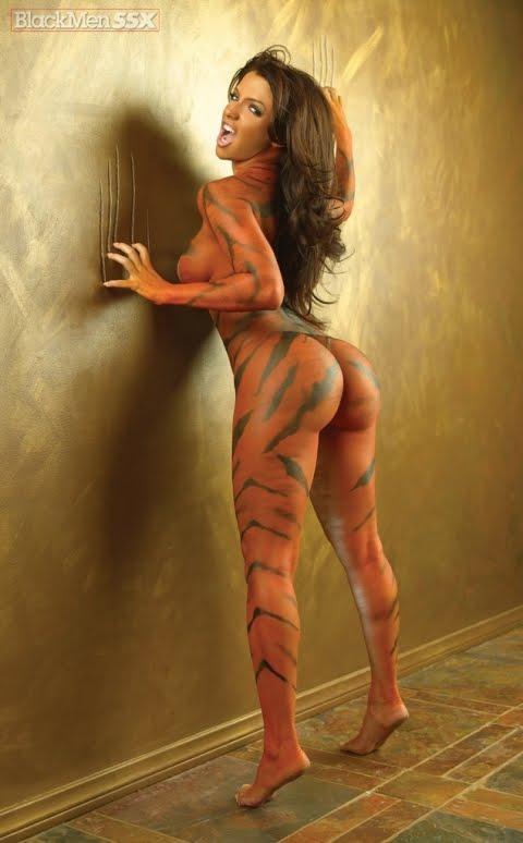 Nude Tiger Girl