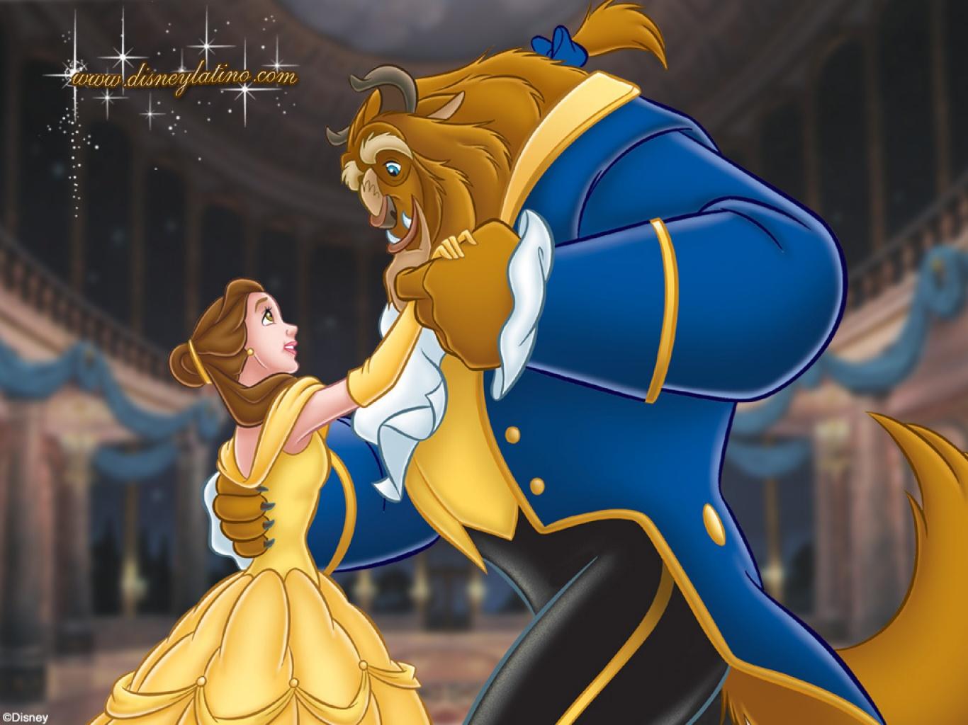 Beauty And The Beast Cartoon Wallpaper: Fotos De Disney: La Bella Y La Bestia