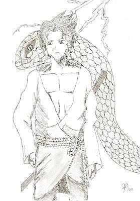 Desenhos Da Matias Uchiha Sasuke 2º Desenho