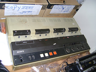 Tape replicator/copier