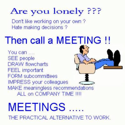 Funny Picture - Meeting
