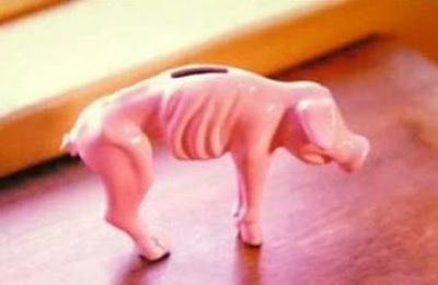 Funny Pic - Financial Crisis Piggy Bank