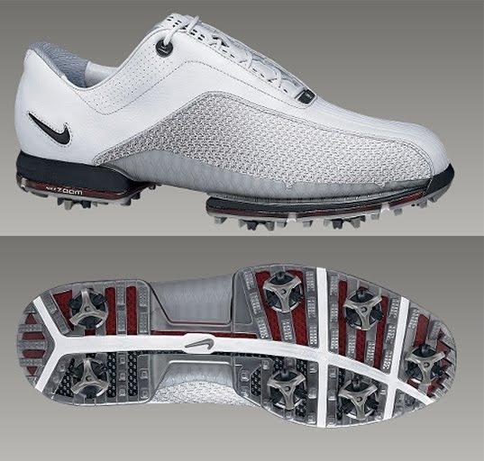 Mens Nike Shox Golf Shoes