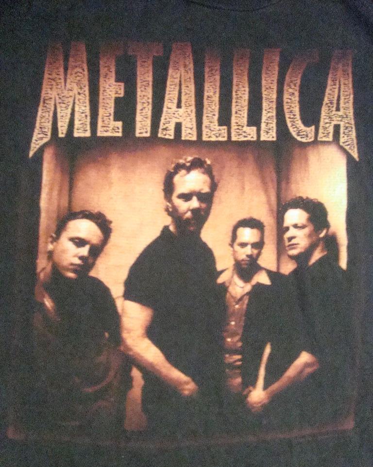 1998 Metallica tour shirt FREE POSTAGE (SOLD) | Bundle4Life