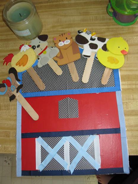 Barn Farm Animal Preschool Craft Activities