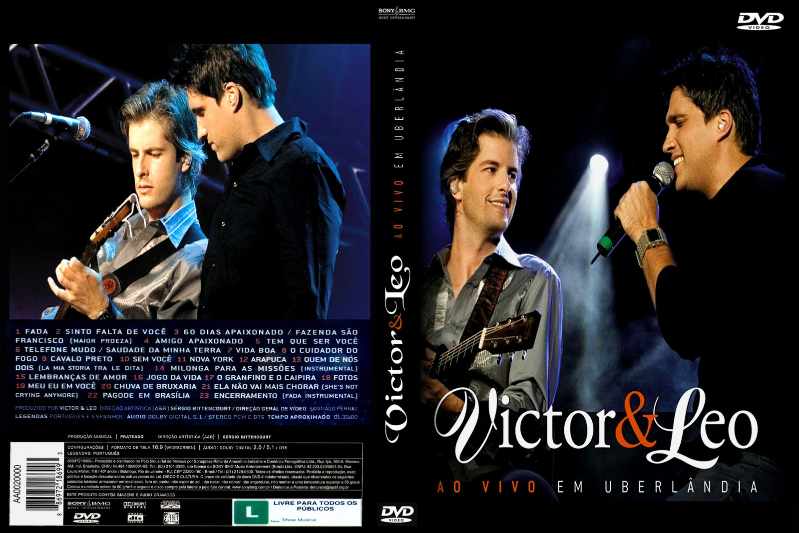 audio do dvd victor e leo em uberlandia