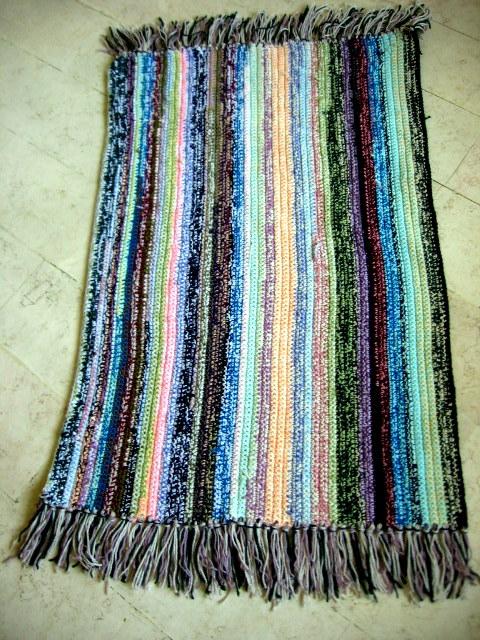 Crochet Knit Enthusiasts Crochet Throw Rug