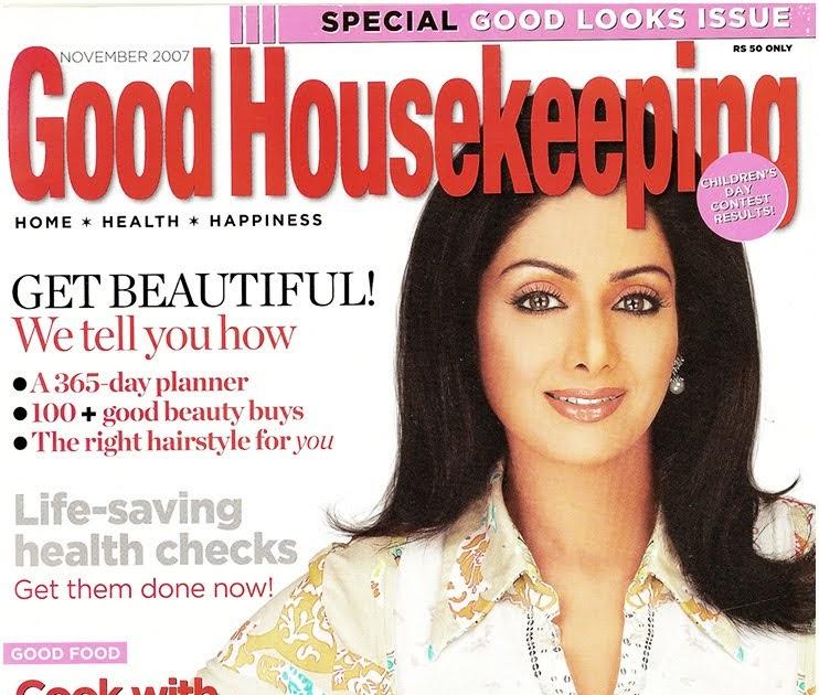 Good Housekeeping: Sridevi: Good Housekeeping