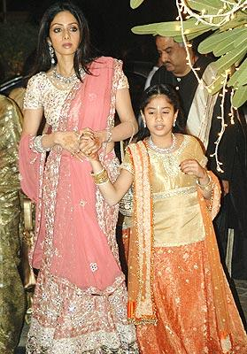 Sridevi At Riddhima Kapoor S Wedding