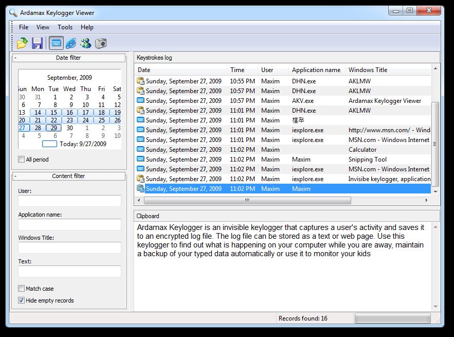 ardamax keylogger registration name and key