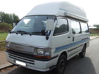 toyota camper van for sale 1993 toyota hiace camper van for sale 5000. Black Bedroom Furniture Sets. Home Design Ideas