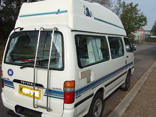 Toyota Camper Van For Sale: 1993 Toyota Hiace Camper Van For Sale
