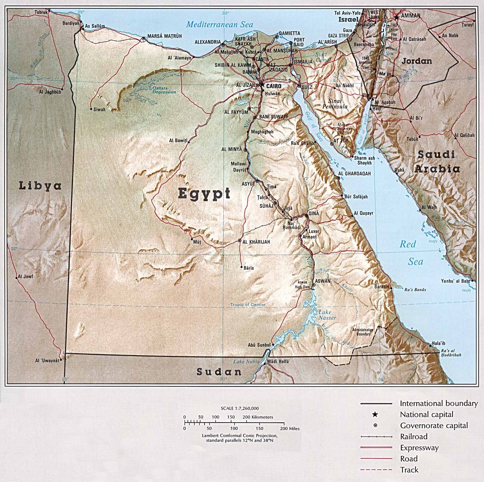 A Trip To Egypt Egypt S Geographical Features