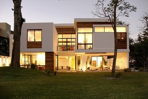Modern House Design Pitched Roof Idea Home And House Ideasidea