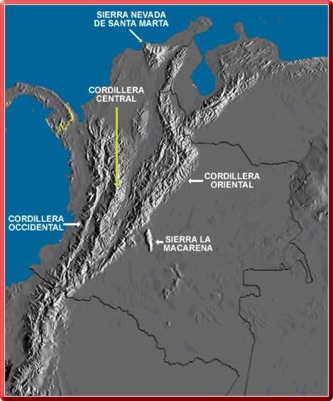 Resultado de imagen para el nudo de los pastos en  COLOMBIA