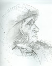 Elderly Woman in Union Square