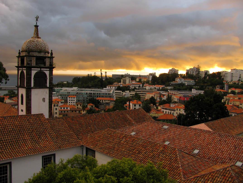 Santa Clara Convent sunset
