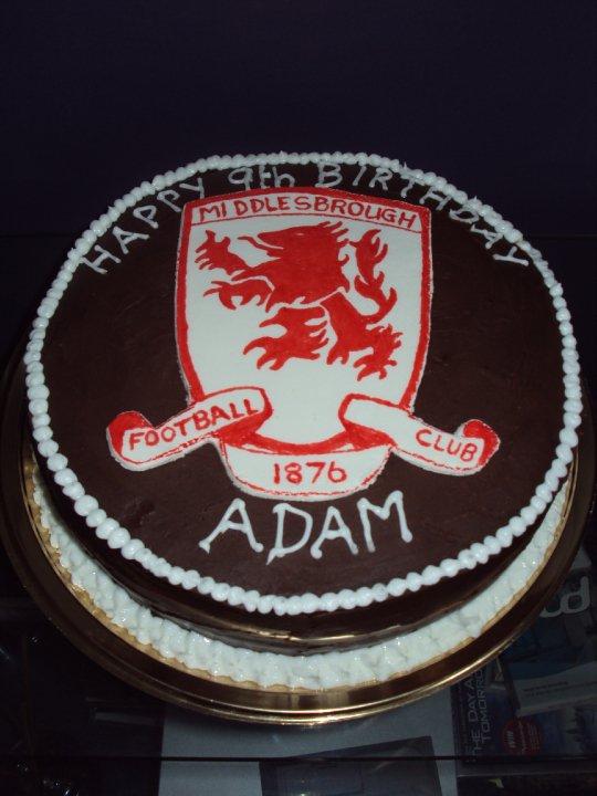 Celebration Cakes By Christine Middlesbrough Football