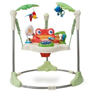 1f3f7f460 New Mommy 411  Exersaucer VS. Jump-A-Roo