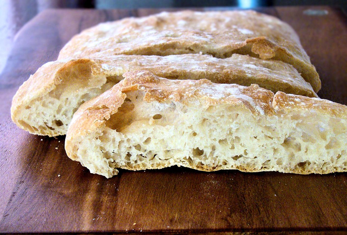 La Petite Brioche Ciabatta Bread