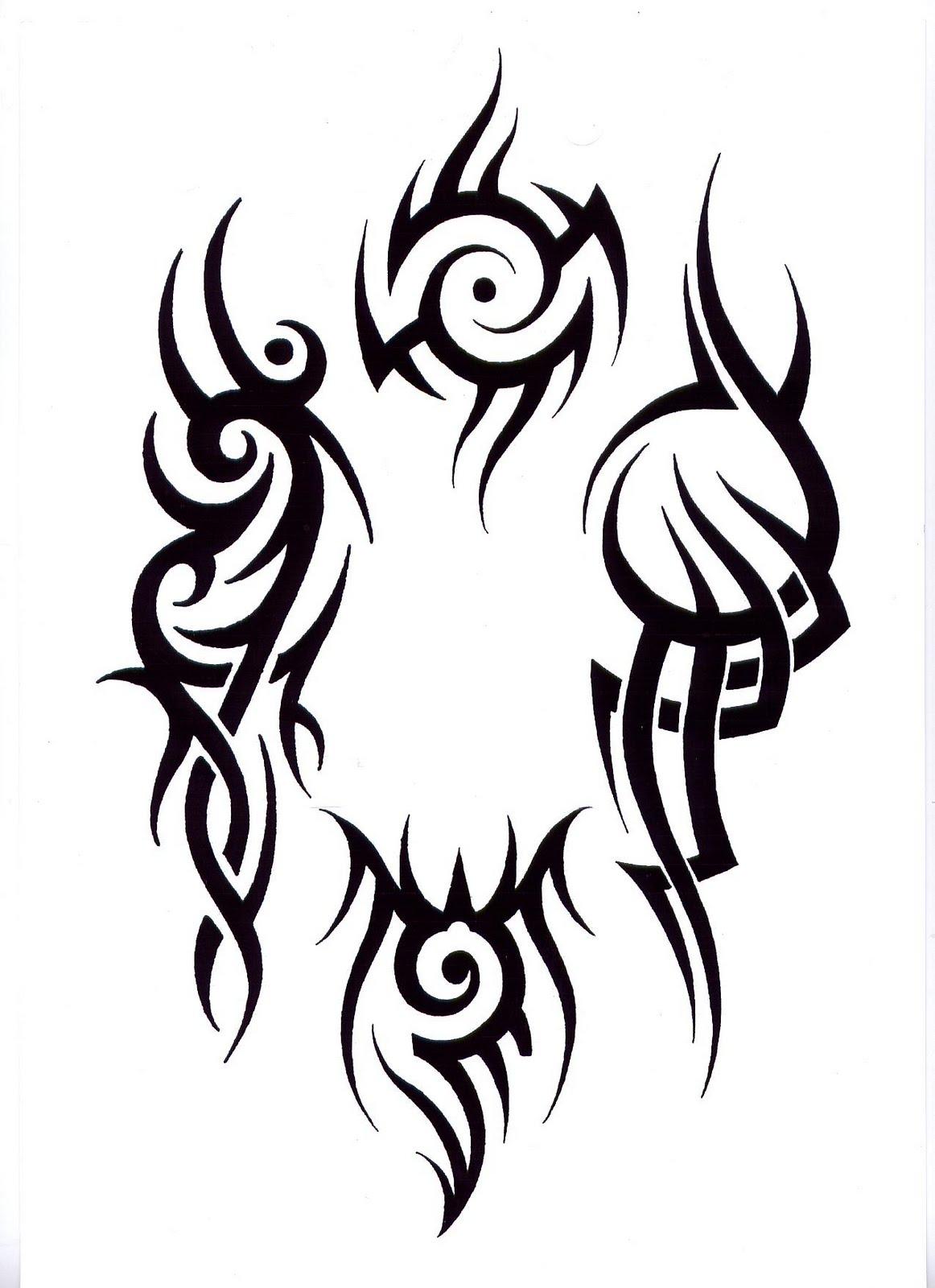 Small Art Tattoo Designs: Popular Tribal Tattoo Design