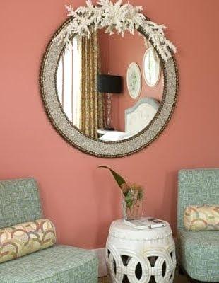 Seashell Mirror