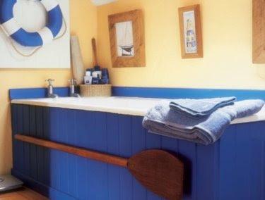 oar in bathroom