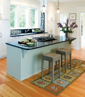coastal seashell rugs decor ideas kitchen rug runner