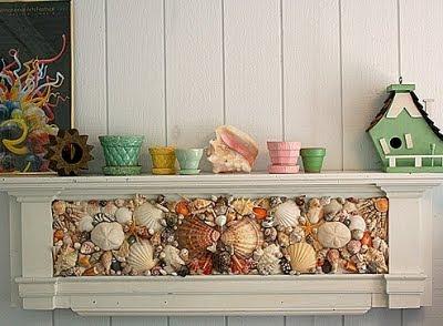 Seashell Mantle