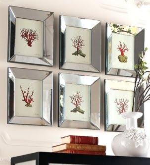 Framed Coral Prints