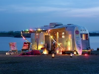 Airstream Trailer living