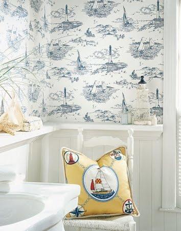 Sailboat Themed Bathroom