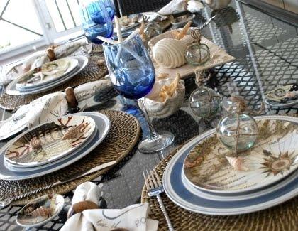 nautical theme table