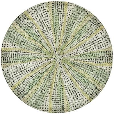 decoupage urchin plates