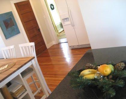 fruit bowl Christmas decor