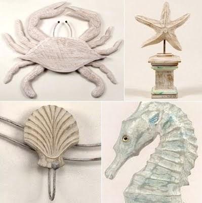 Beach Decor Fun Artistic Wood And Metal Sculptures