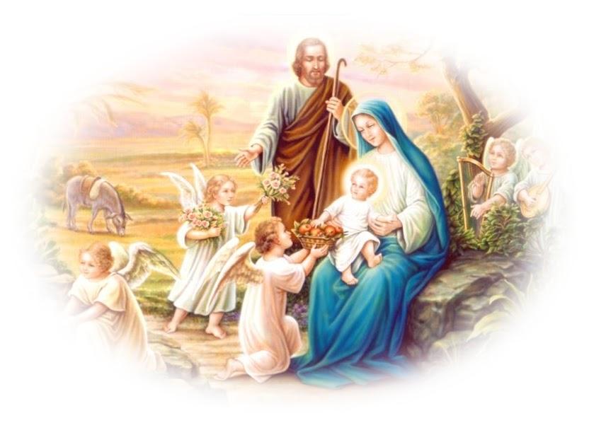 Ben noto Immagini Sacra Famiglia Natale DF27