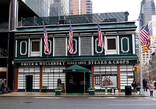Smith Wollensky Restaurant New York