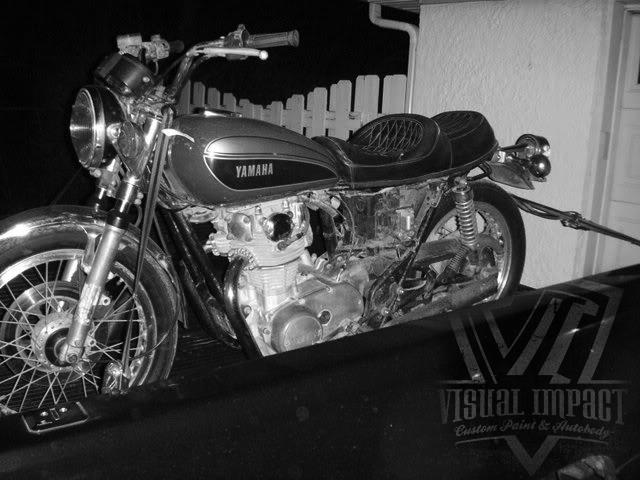 visual imapct - xs650 bobber build - bikerMetric