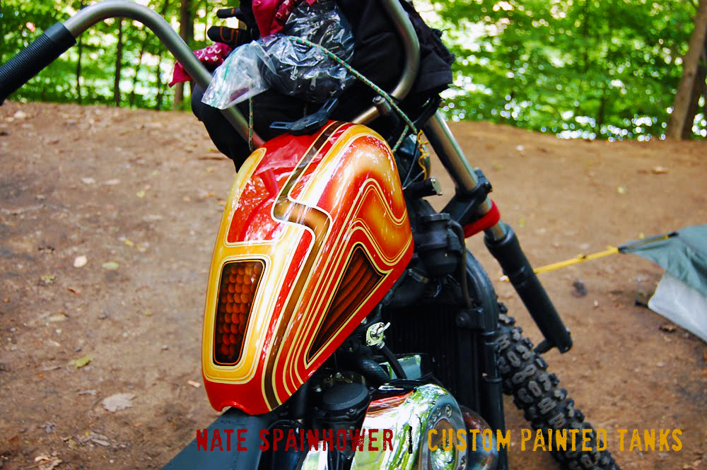 nate spainhower | custom paint, pinstriping, and gold leaf