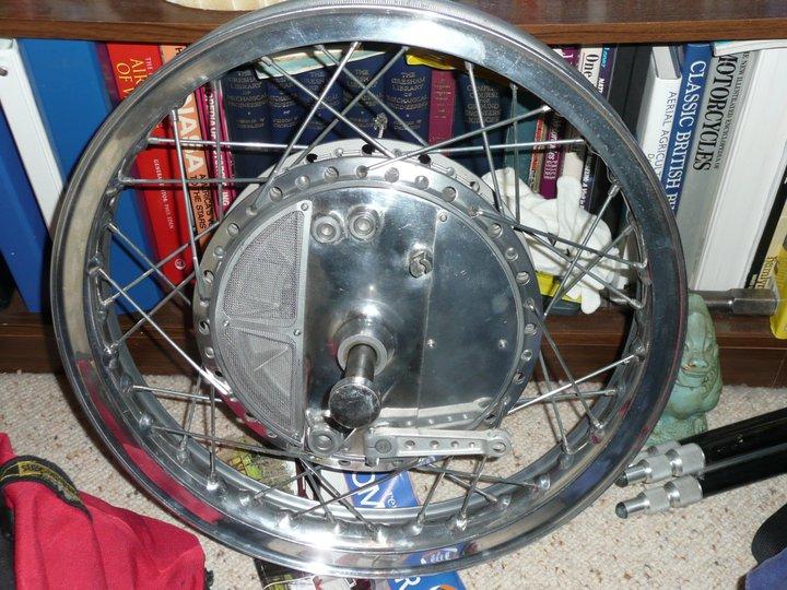 Yamaha Tz Rear Drum Brake Bikermetric