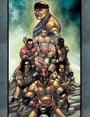 Whooooooo! Wrestling comics, baby!: Lucha libre art by ...