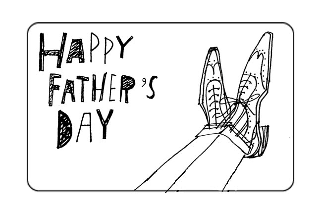 Alanna Cavanagh: Sketches for a Father's Day gift card