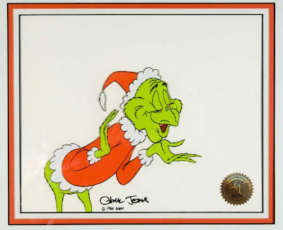 How The Grinch Stole Christmas 1966 Cindy Lou Who.Cowan Collection Animation And Comic Art How The Grinch