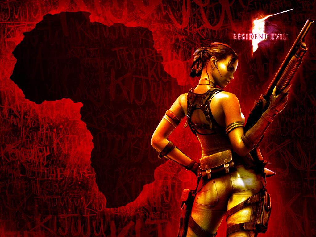 Mashababko Resident Evil 5 Wallpaper Hd