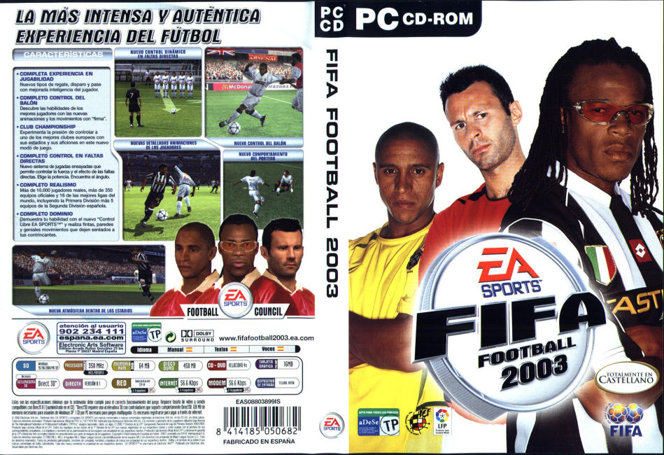 Descargar Juegos De Futbol Gratis Fifa 2003 Full 1 Link